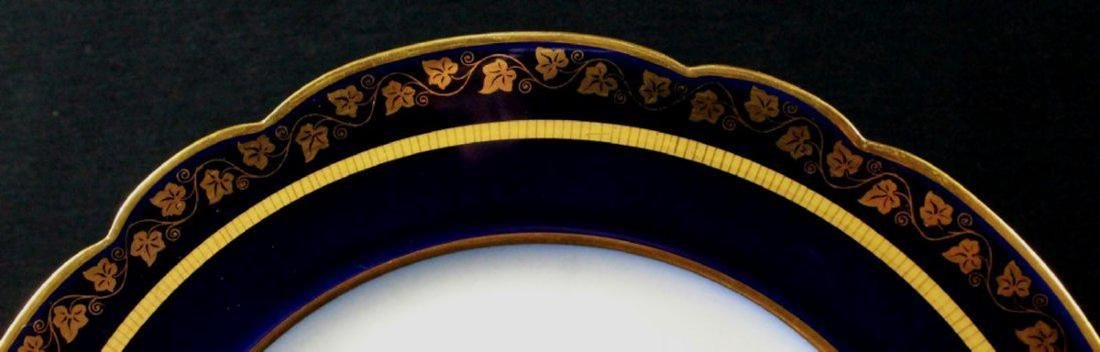 19Th C French Sevres Porcelain Cabinet Plate: King - 3