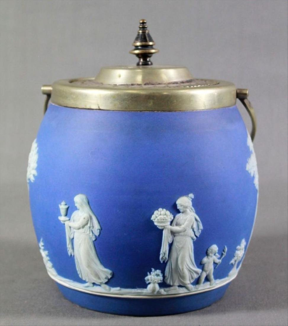 Antique Figural Lantern With Cover