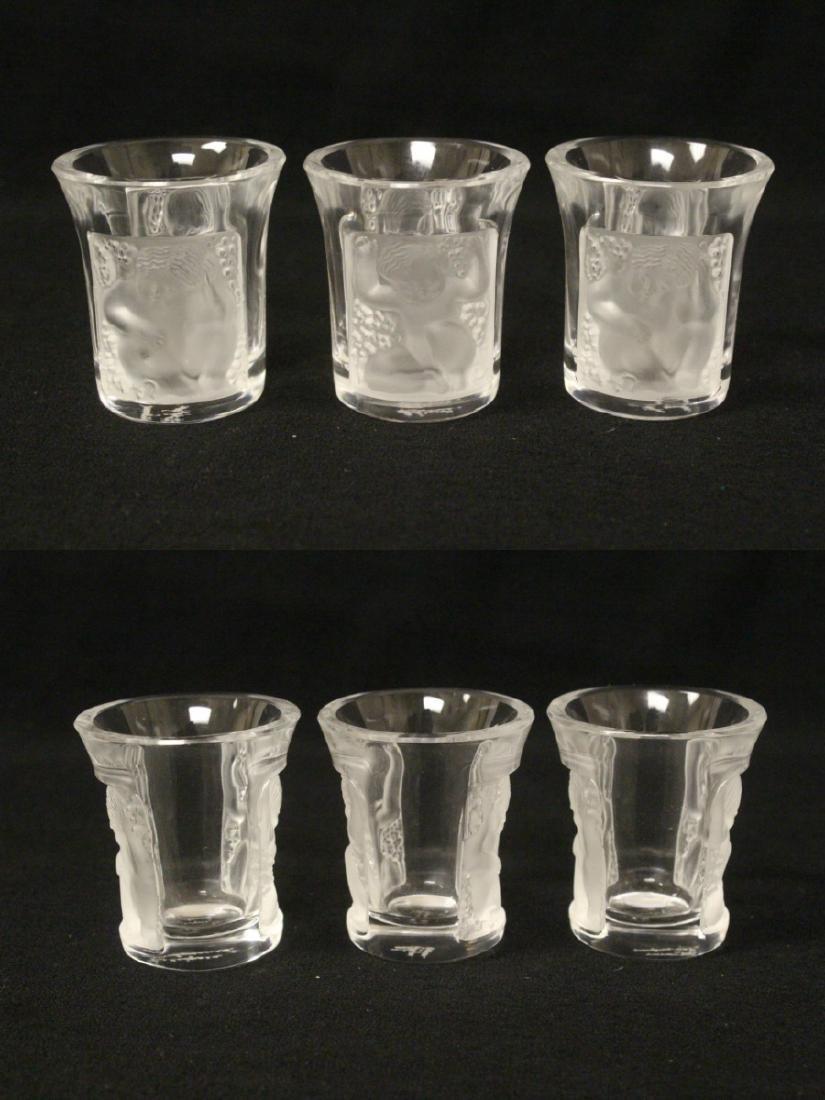 Lalique 4 Pc. Drinking Set - 9