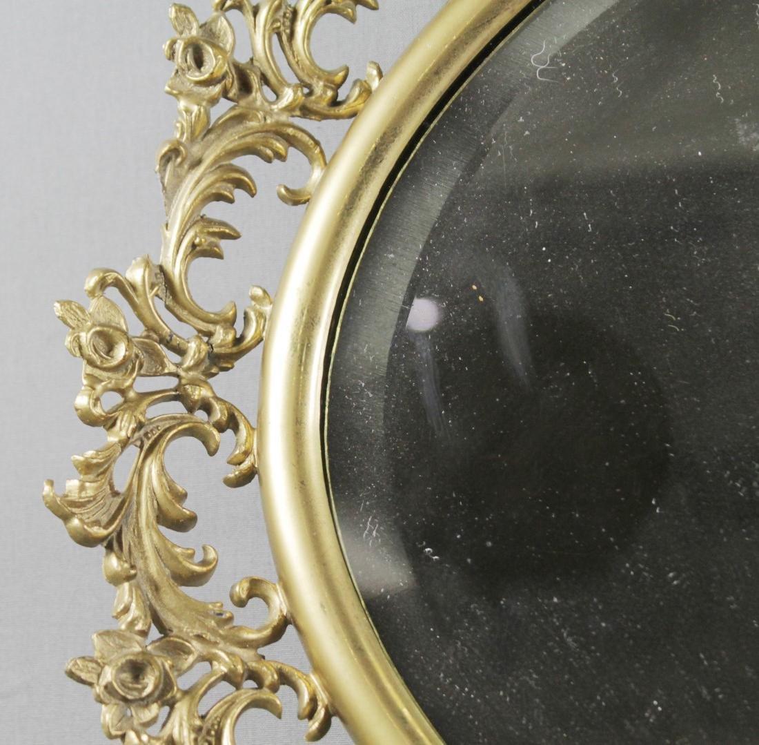 Bronze Ornate Mirror - 2