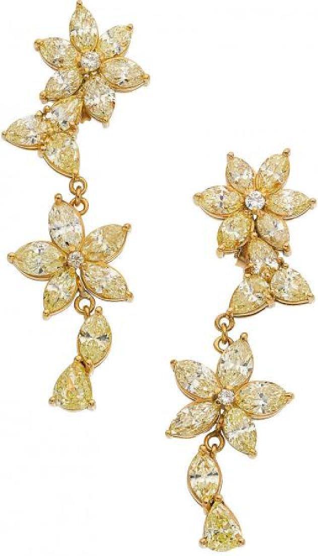 Fancy Yellow Diamond, Fancy Light Yellow Diamond
