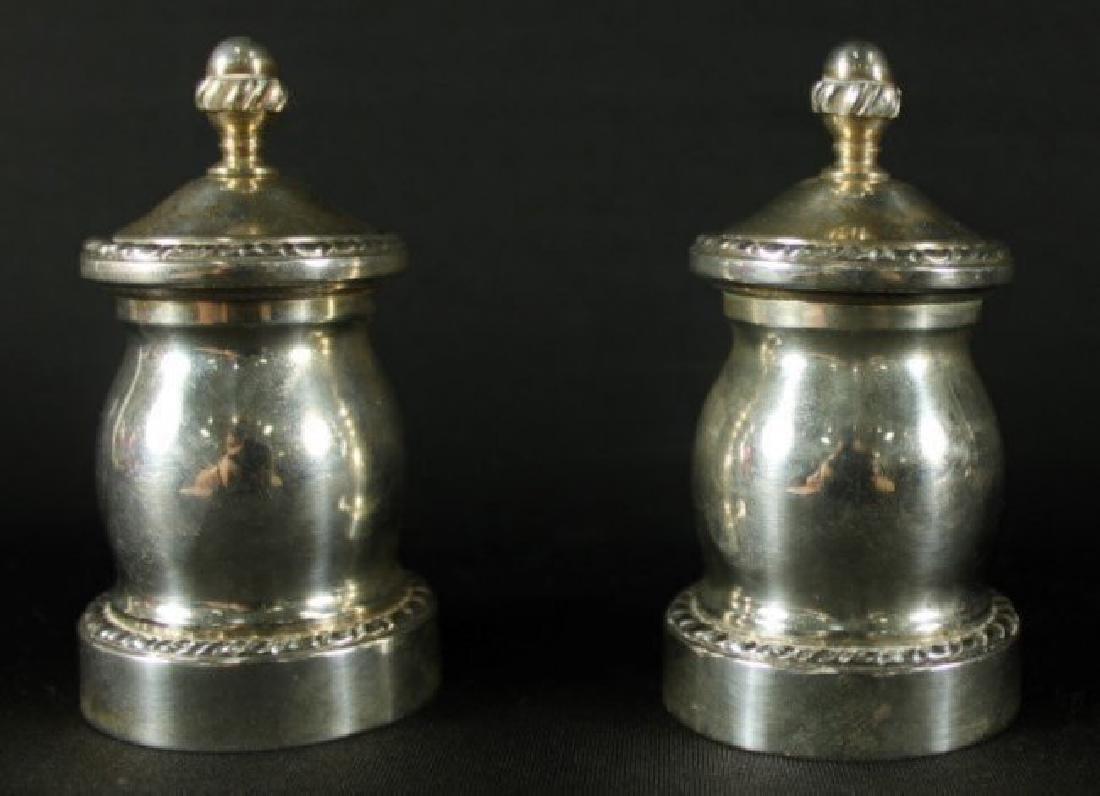 Pair Of Sterling Silver Salts