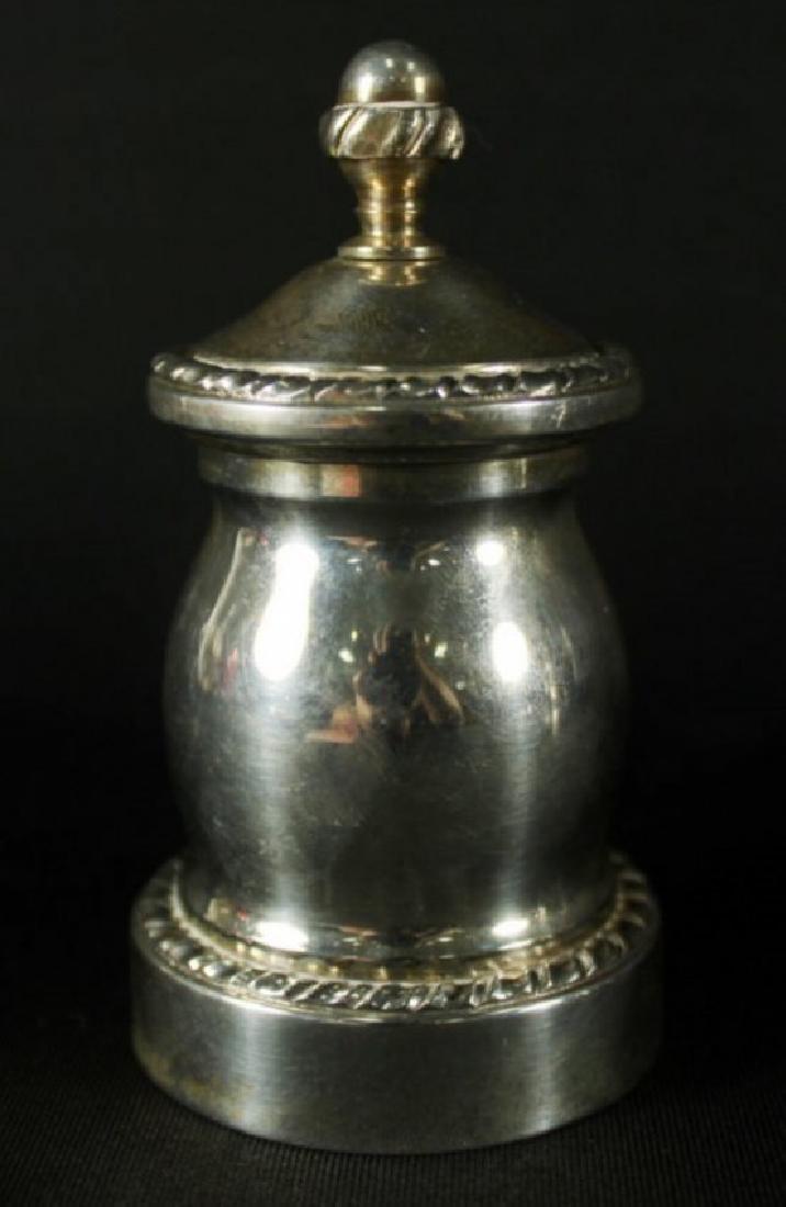 Pair Of Sterling Silver Salts - 2