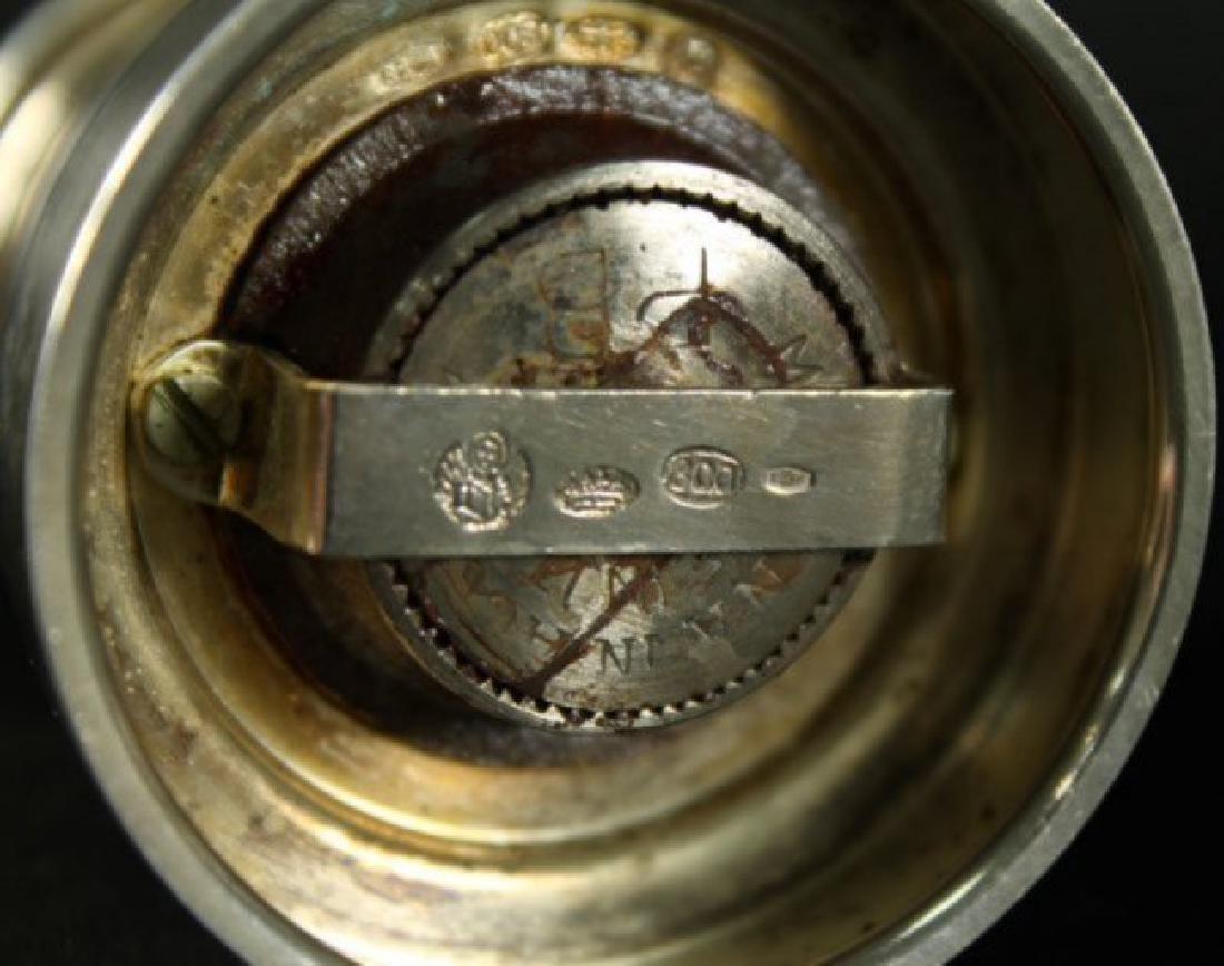 Pair Of Sterling Silver Salts - 3