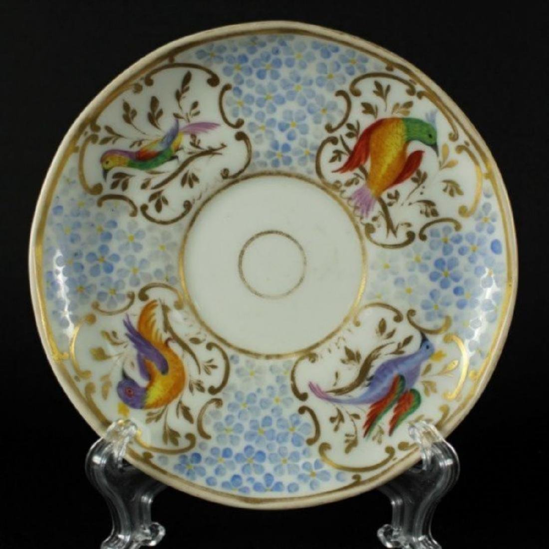 Beautiful Antique Berlin German Cup And Saucer - 3