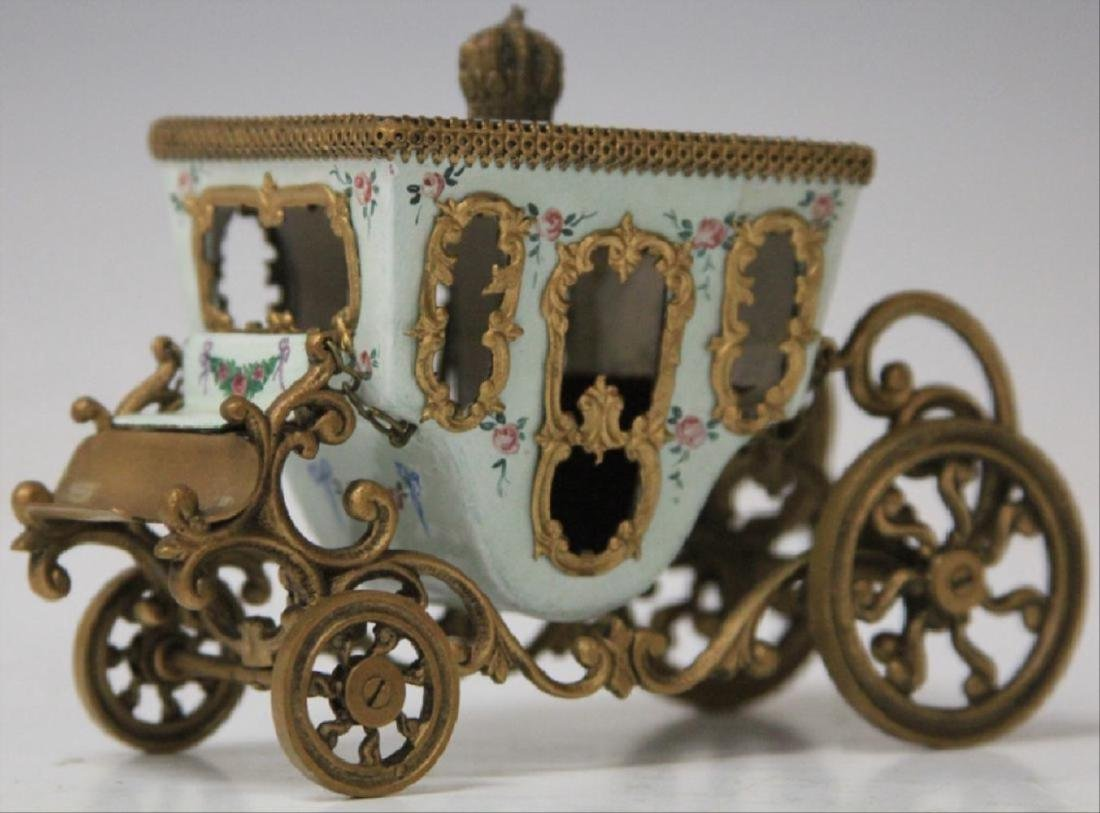Early Austrian Enameled Carriage