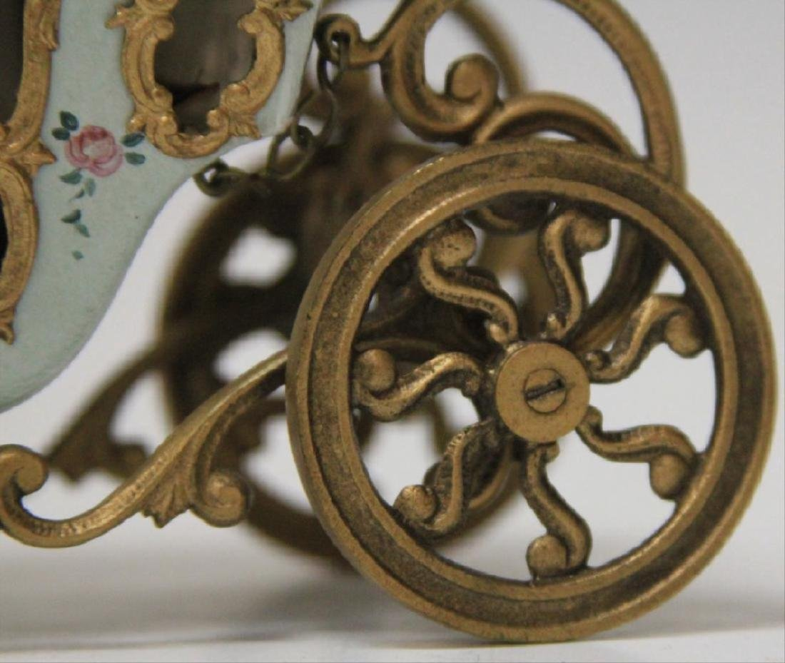Early Austrian Enameled Carriage - 4
