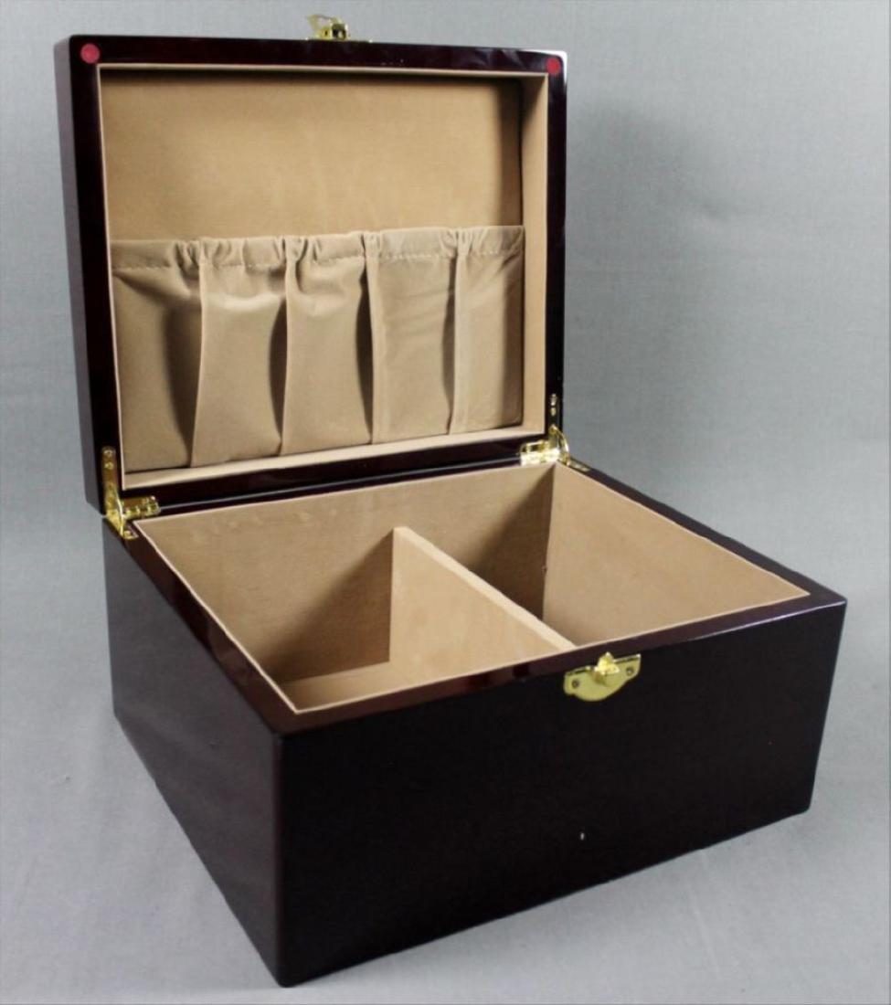 Burlwood Jewelry Box - 2