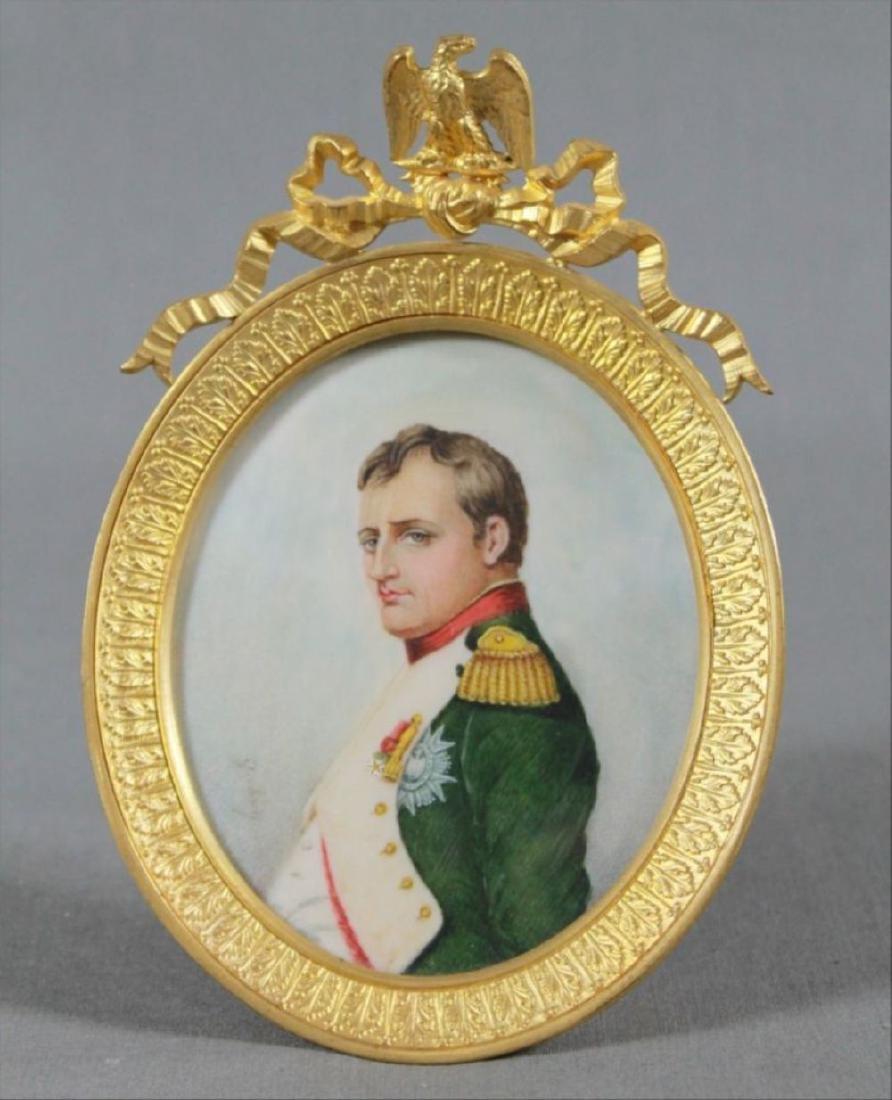 Three Portrait Miniatures Of Napoleon First Quarter - 4