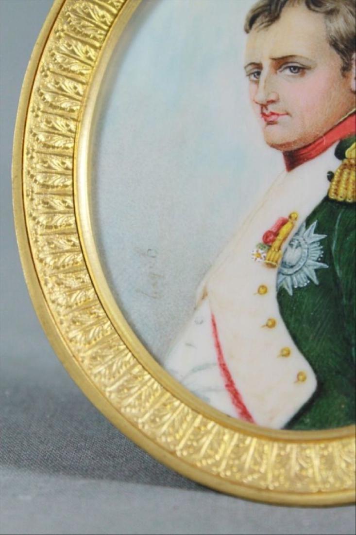 Three Portrait Miniatures Of Napoleon First Quarter - 5