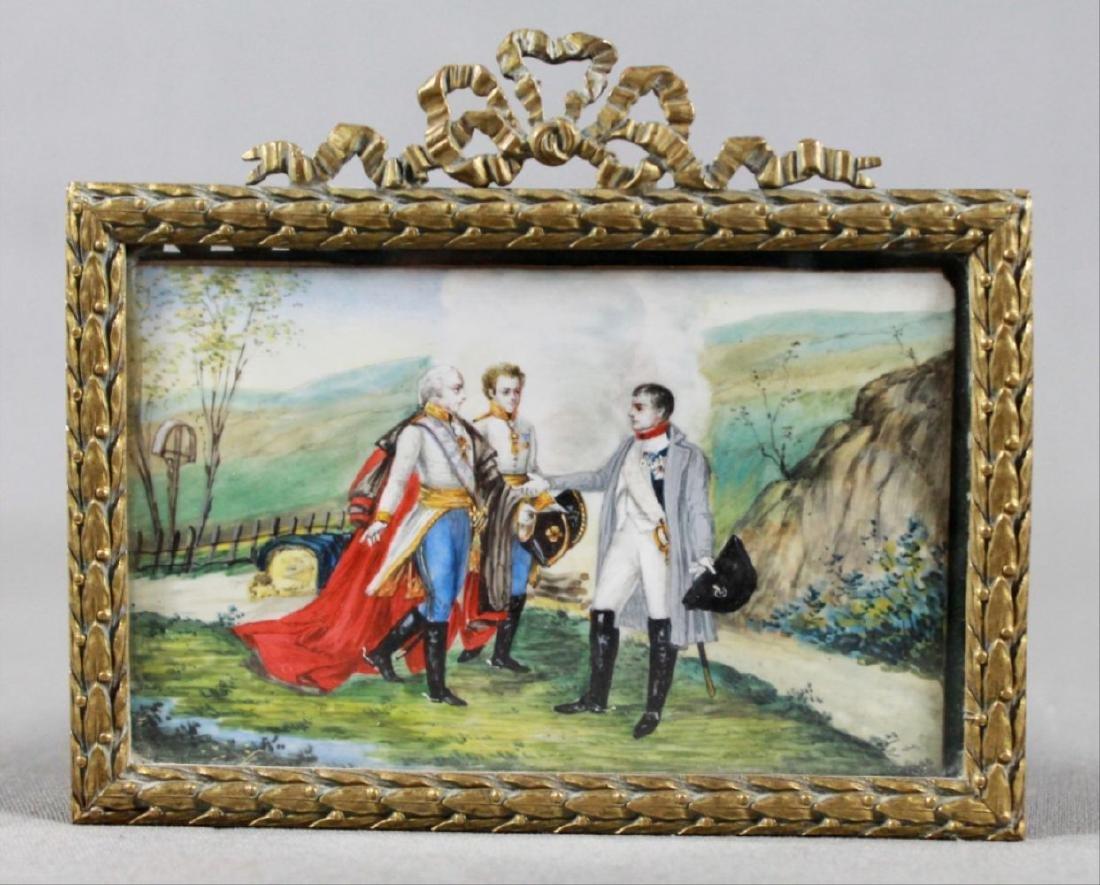 Three Portrait Miniatures Of Napoleon First Quarter - 6