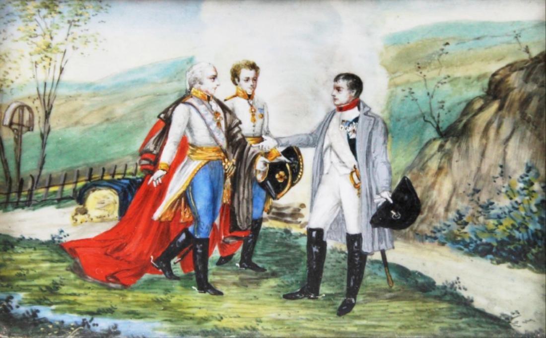Three Portrait Miniatures Of Napoleon First Quarter - 7