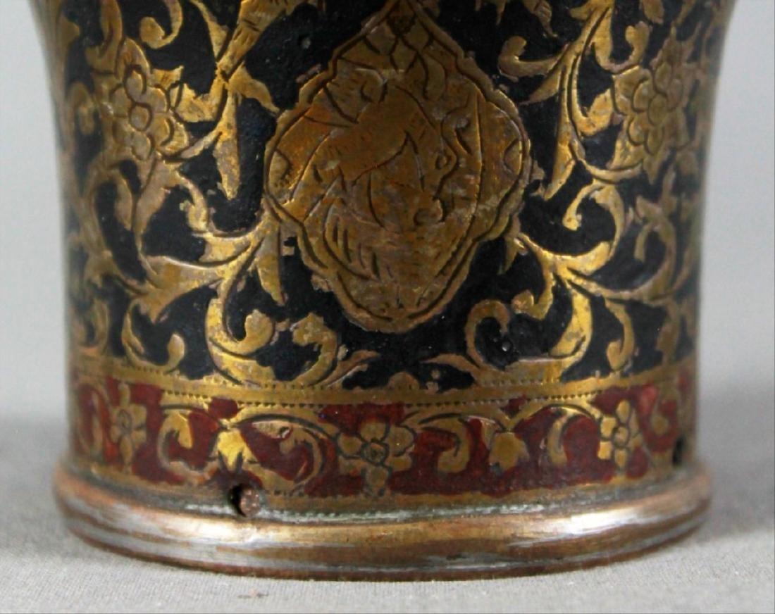 Qajar Inlaid Vase - 3