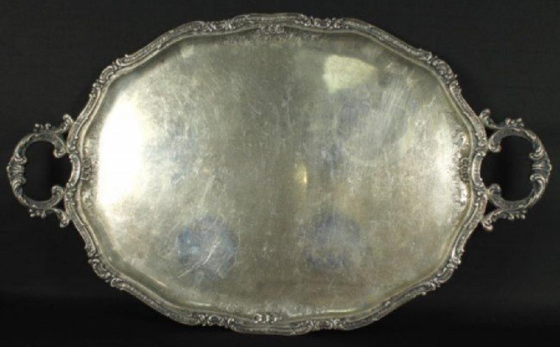 Antique German 800 Silver Tea Set 5 Pc. - 3