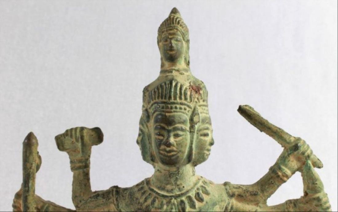 Chinese Figural Of A Deity - 2