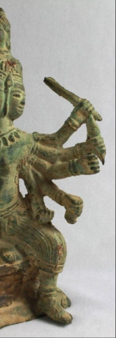 Chinese Figural Of A Deity - 3