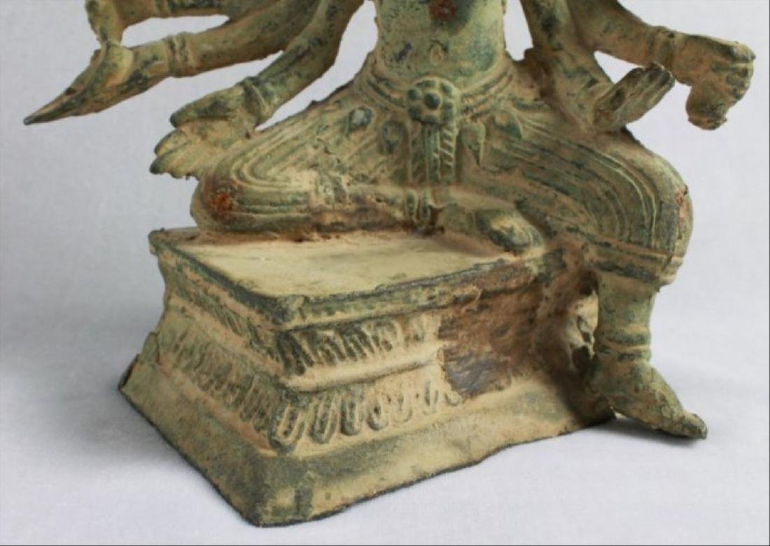 Chinese Figural Of A Deity - 5