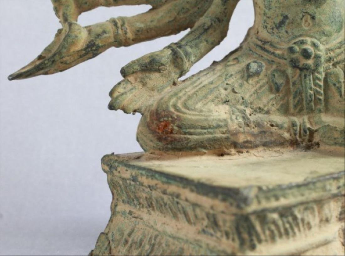 Chinese Figural Of A Deity - 7