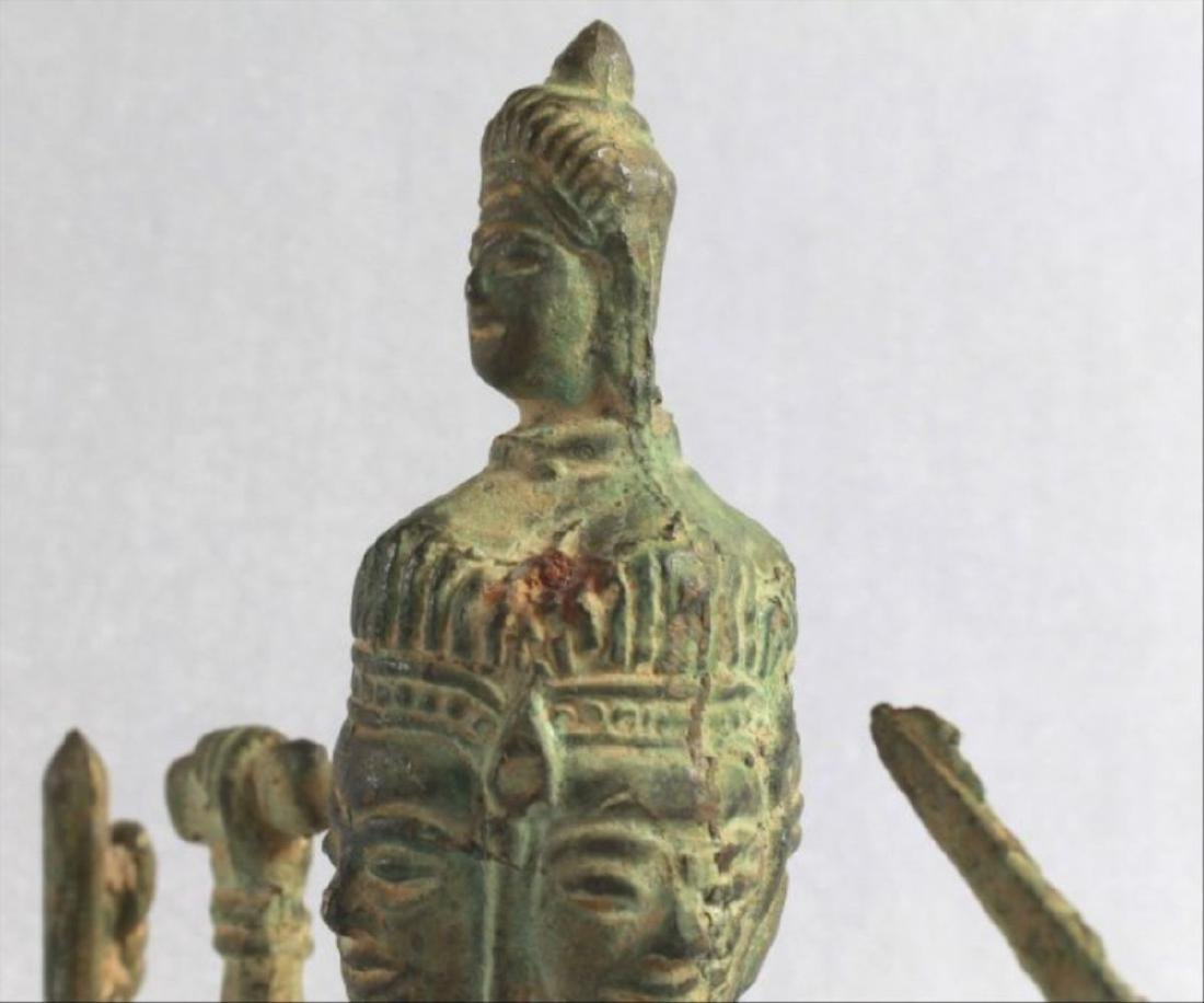 Chinese Figural Of A Deity - 8