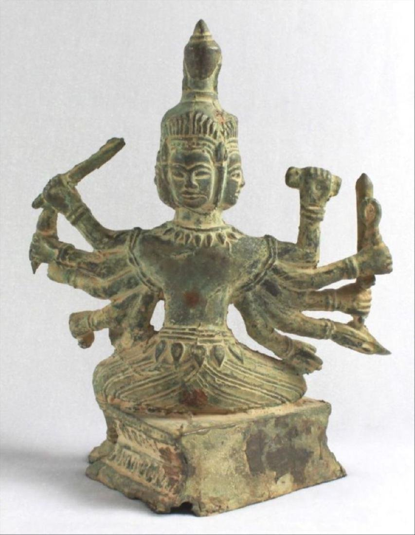 Chinese Figural Of A Deity - 9