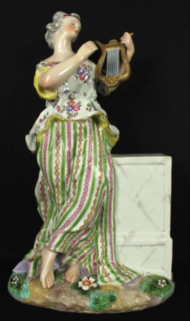 Antique Meissen Figure - 2