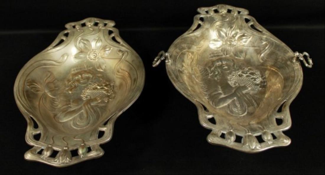 Pair Of Inlaid Bowls