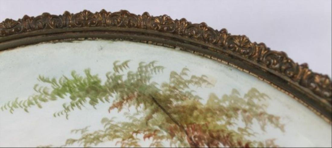 Sevres Style Tray With Handles - 6