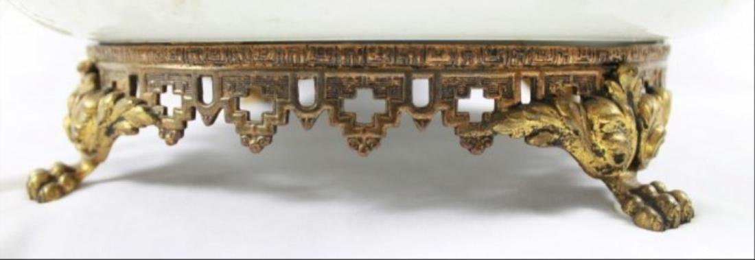 Sevres Style Tray With Handles - 7