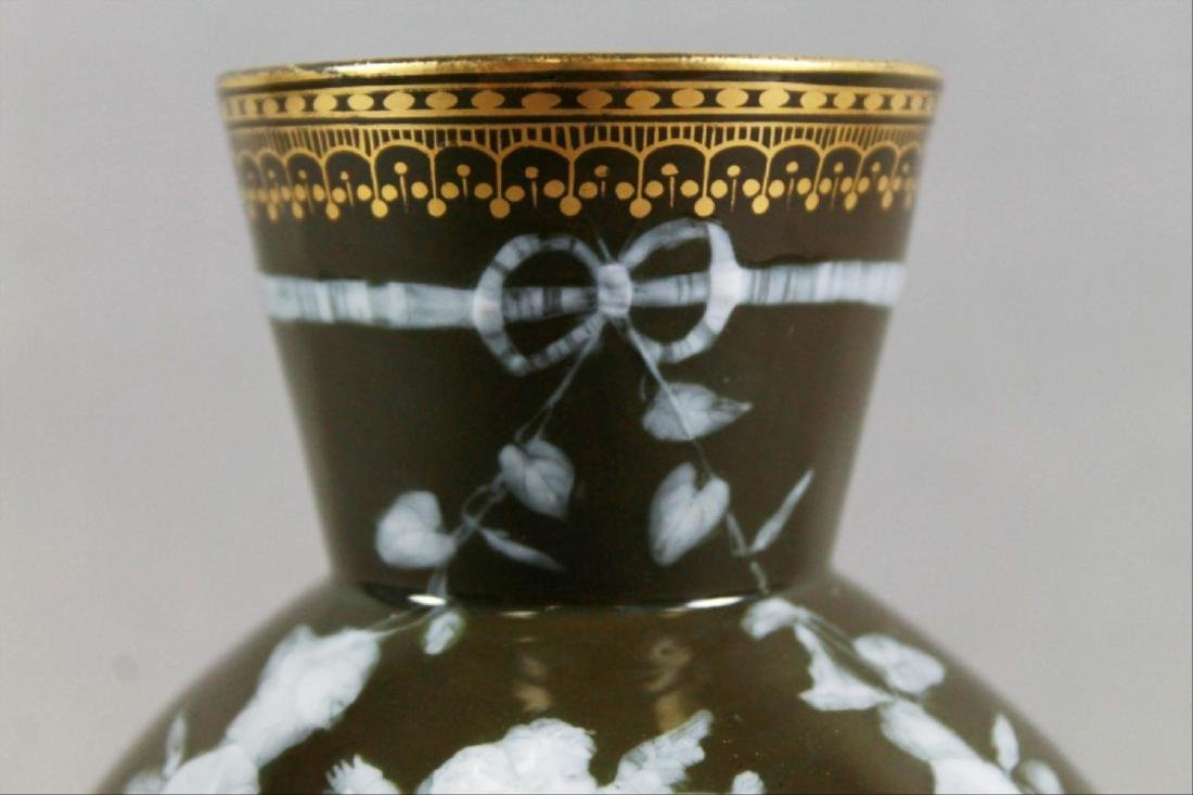 Goerge Jones Pate Sur Pate Vase - 3