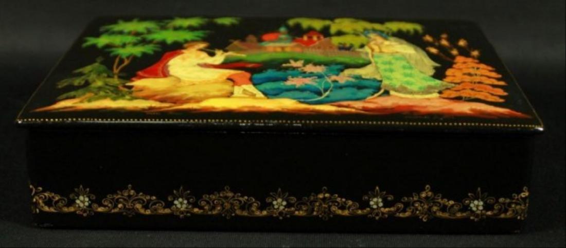 Signed Jewelry Box - 2