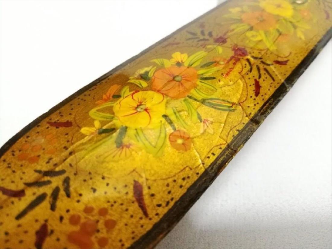Antique Islamic Paper Mache Pen Box - 7
