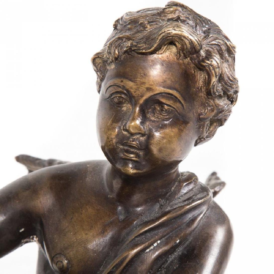 Louis Xvi Style Bronze Figural Planter - 3