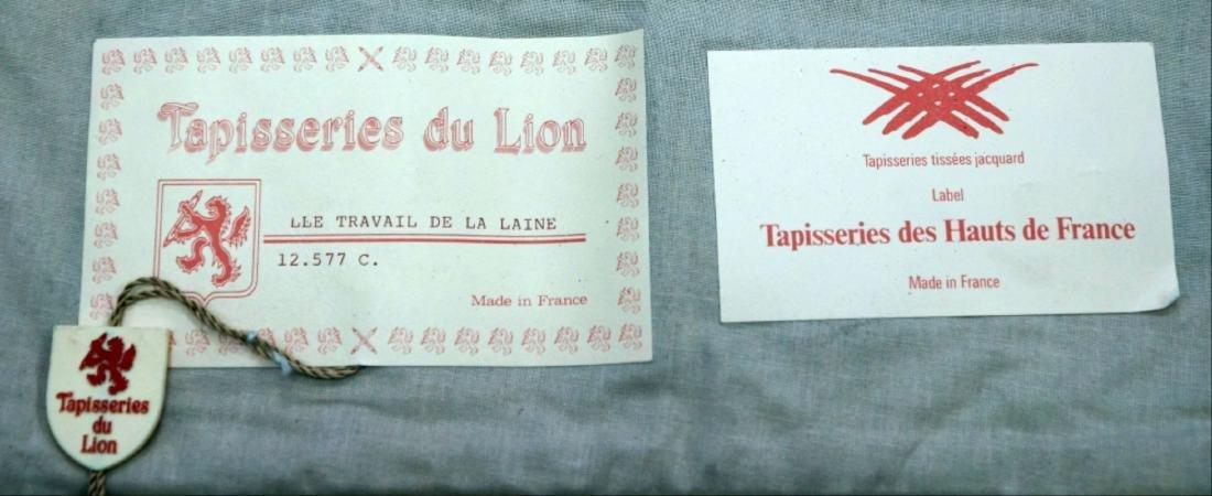 """French Tapestry """"Lle Travail De La Laine"""" - 6"""
