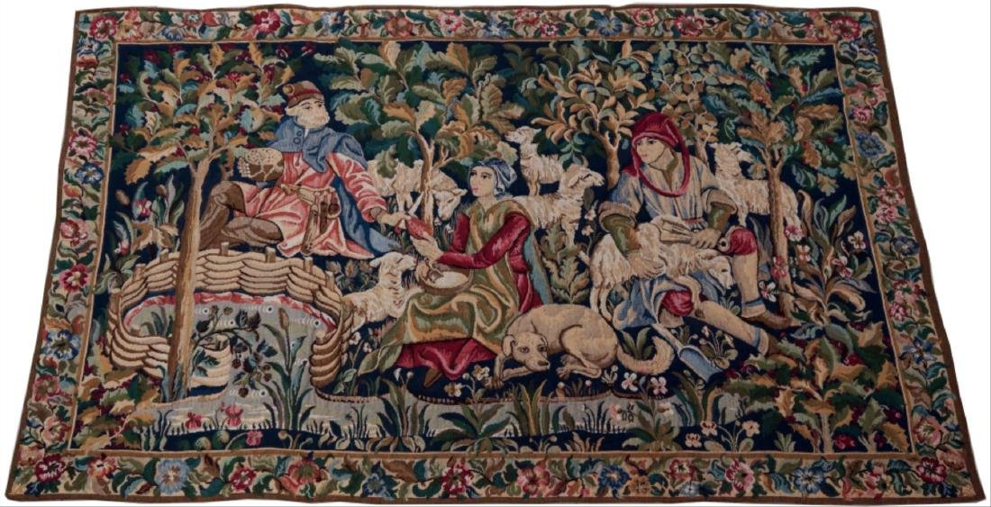 """French Tapestry""""Les Moutons"""""""