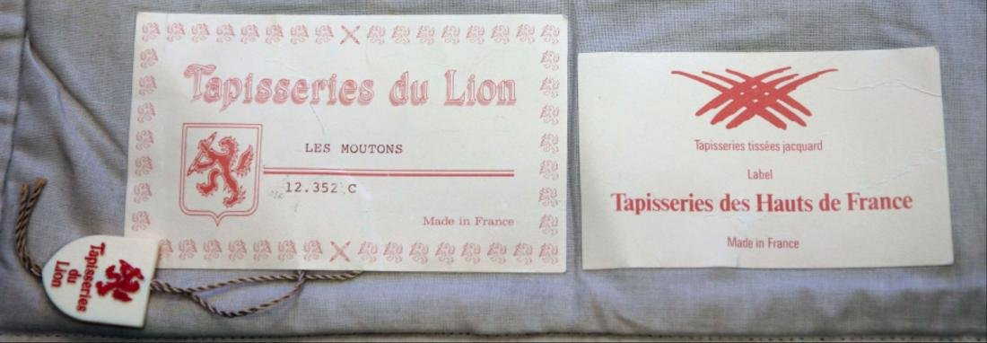 """French Tapestry""""Les Moutons"""" - 6"""