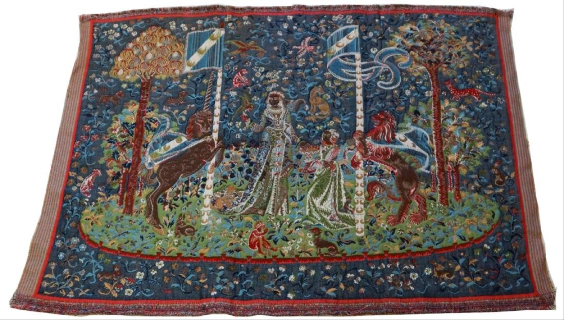 Antique French Tapestry - 2