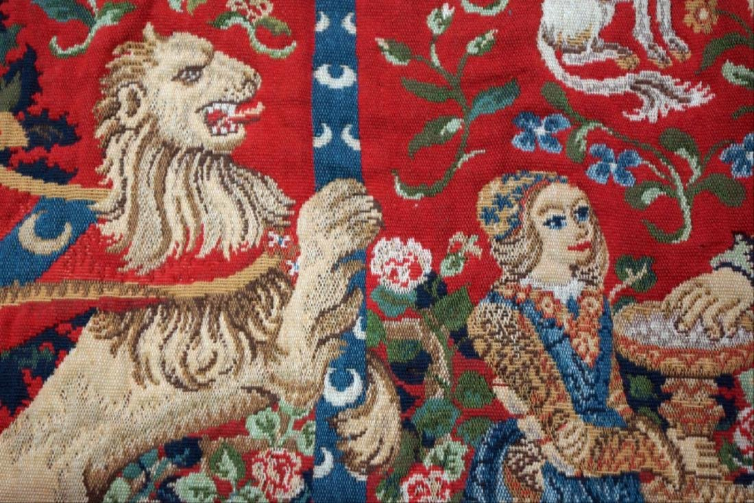 Antique French Tapestry - 3