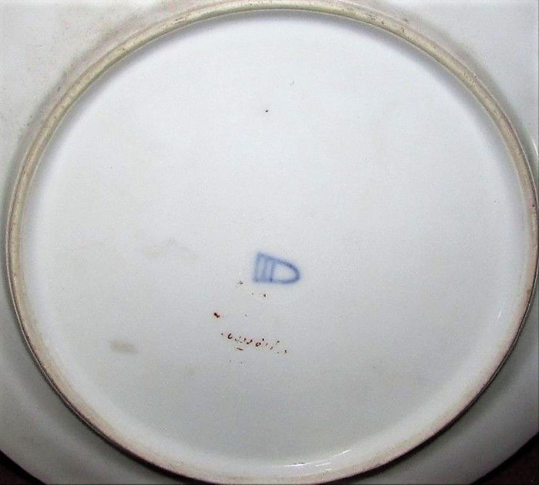 Antique Royal Porcelain Cabinet Plate Vienna Portrait - 6