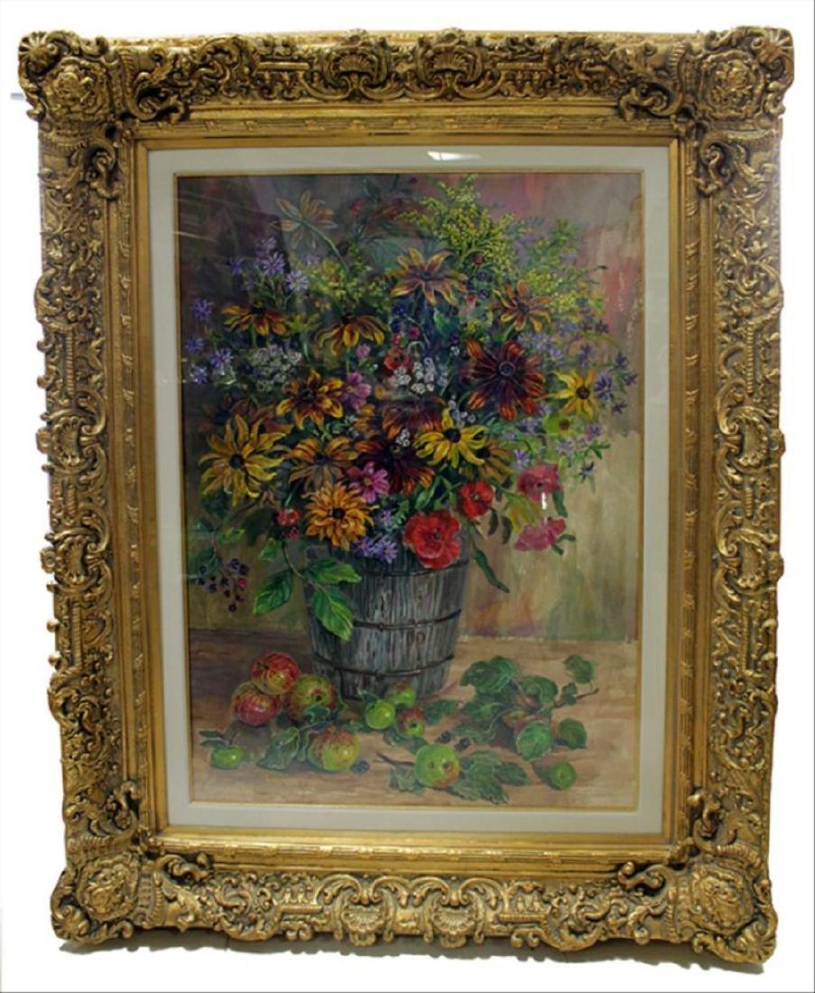 Scott: Large Still Life Watercolor