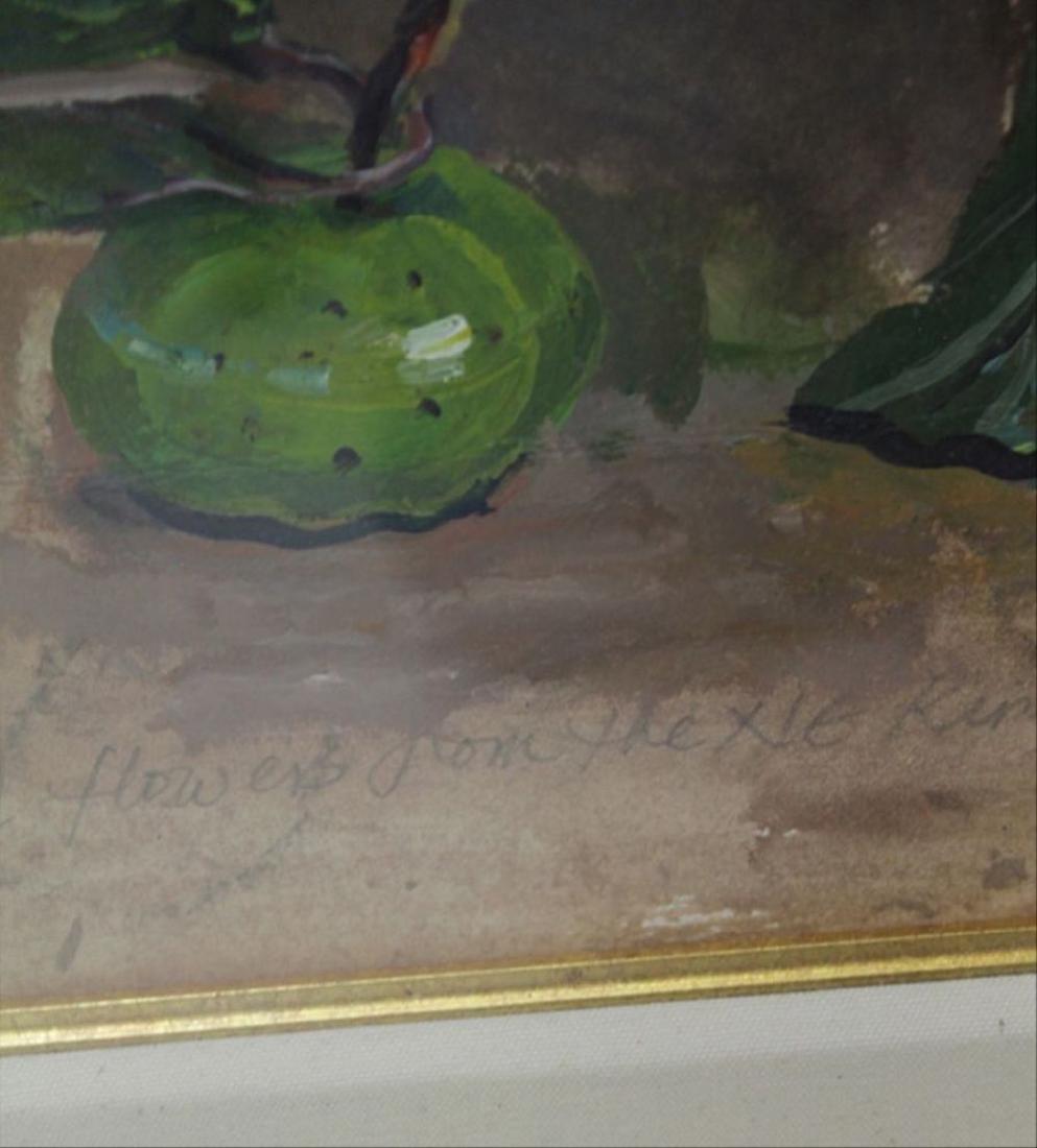 Scott: Large Still Life Watercolor - 4