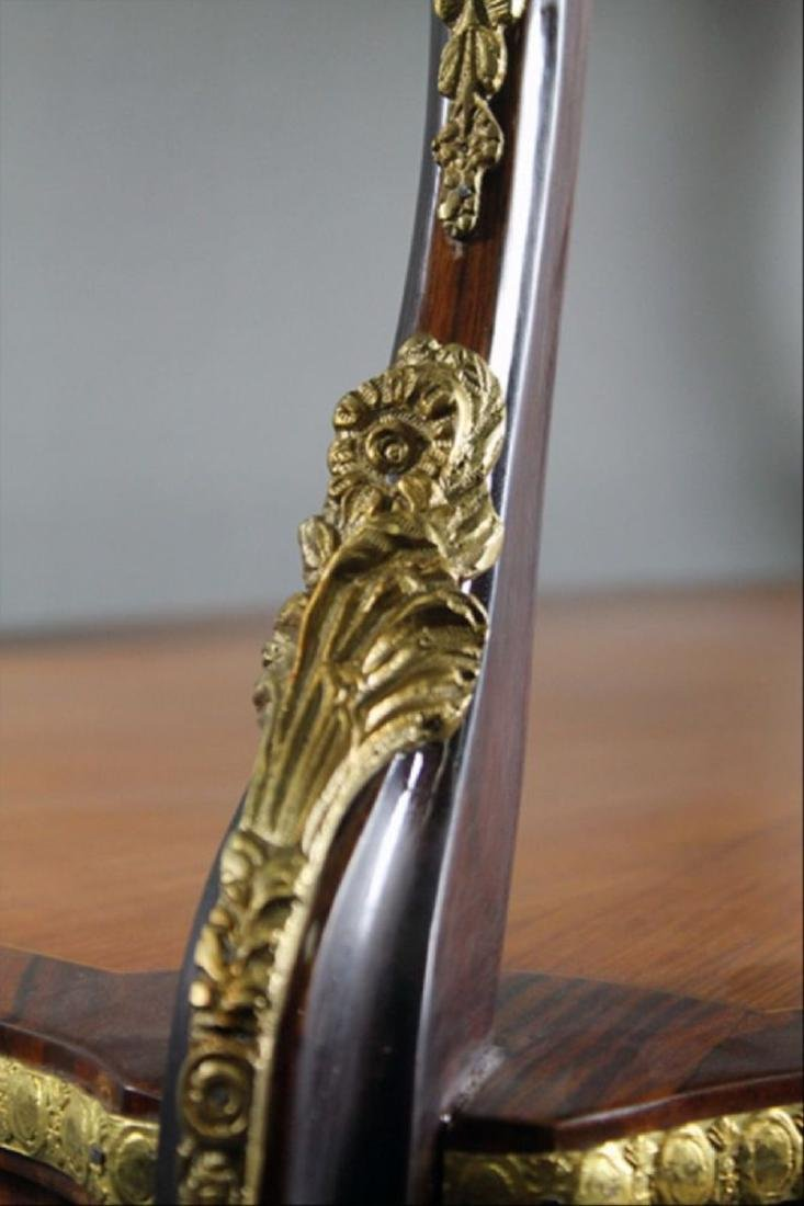 "Louis Xv Style Bronze Mounted Tea Table 35 1/4"" X 32"" X - 2"