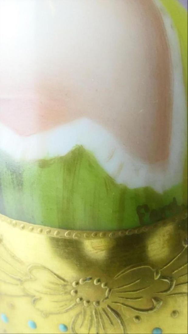 Royal Vienna Porcelain Covered Portrait Bottle - 3