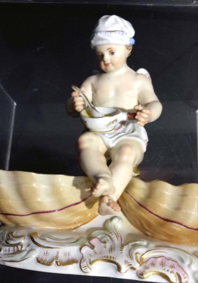 19C. Meissen Porcelain Figure - 5