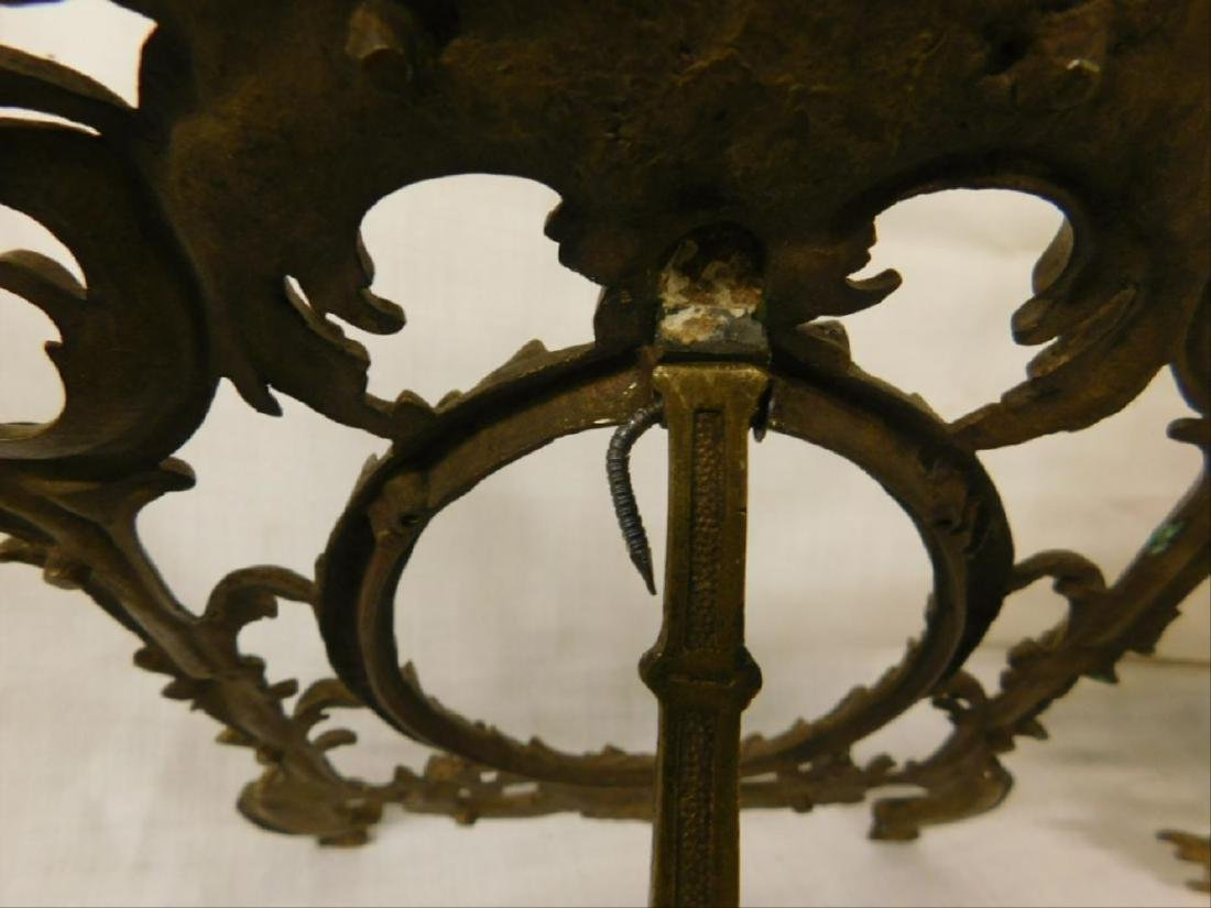 2 Vintage Brass Table Top Picture Frames - 6
