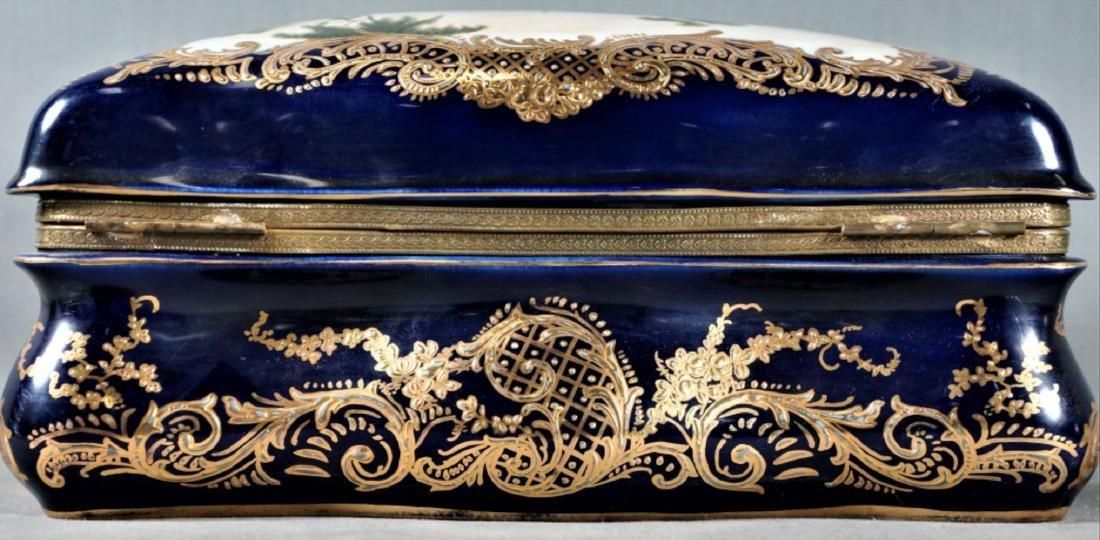 Sevres Style Porcelain Box - 2
