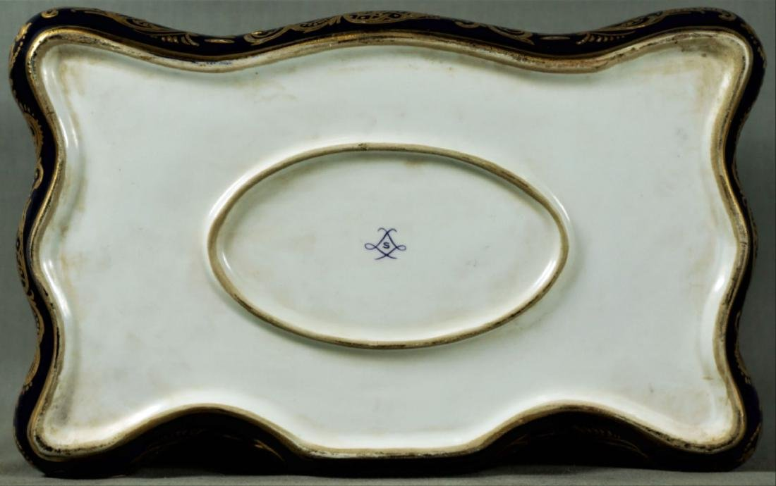 Sevres Style Porcelain Box - 4