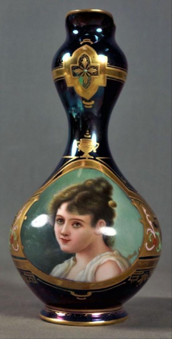 Enameled Royal Vienna Ewer