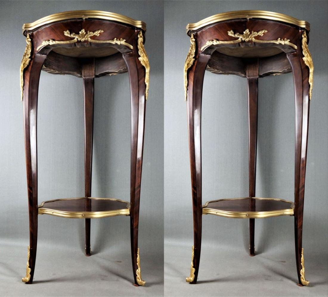 Pr. Louis Xv Style Marble Top Tables
