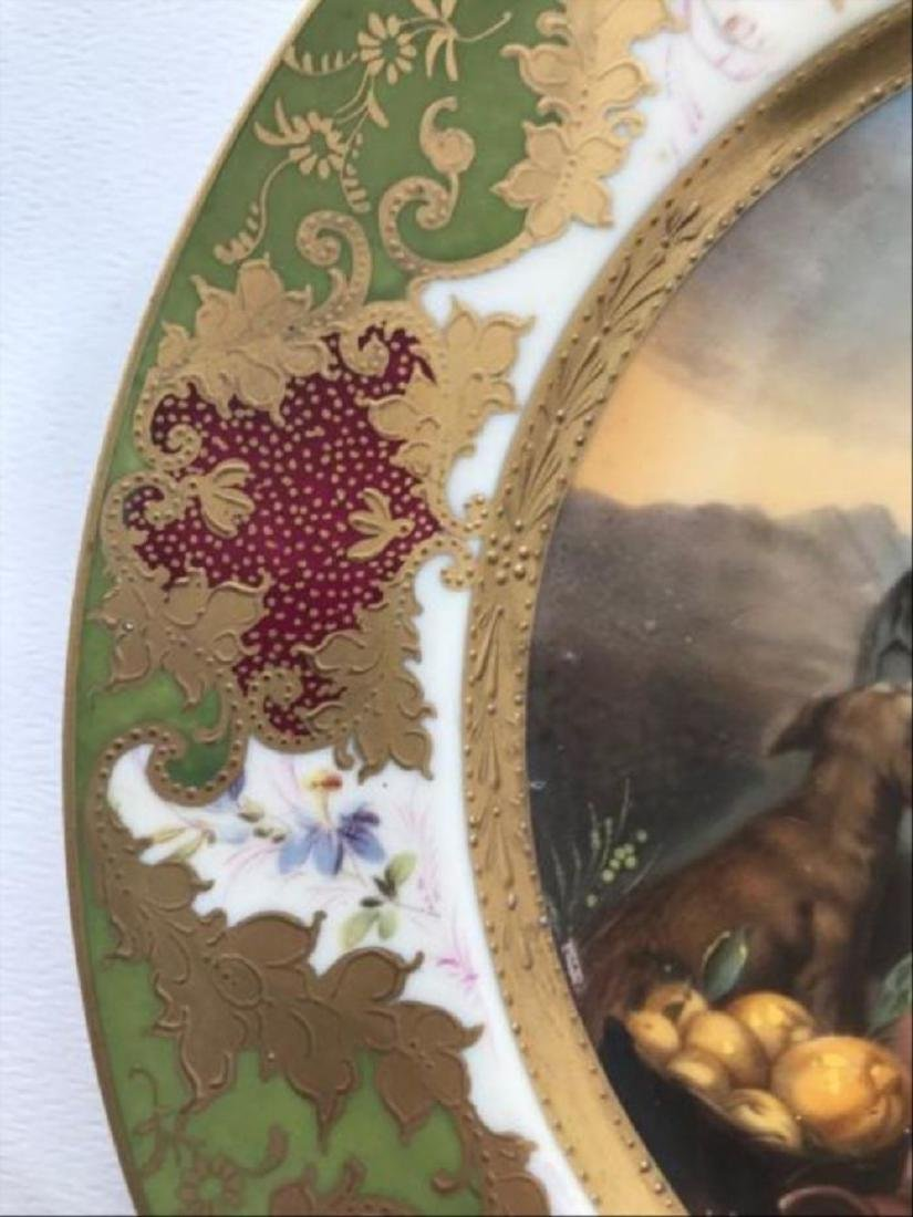 Royal Vienna Austria Signed Cabinet Plate Title Of - 3