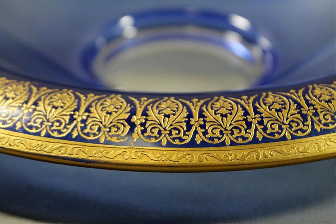 Morano Gilt Rim Glassware - 3